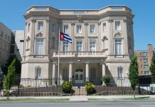 Ambasciata cubana a Washington DC, USA