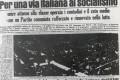 Il 1956, il Pci e il progetto di una nuova società. La via italiana al socialismo