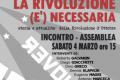 """""""I dieci giorni che sconvolsero il mondo"""" il 4 marzo 2017 a Vicenza"""