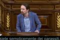 """Pablo Iglesias: """"Voi non siete neanche fascisti, siete semplicemente dei parassiti"""""""