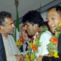 Locatelli (Prc) incontra Evo Morales: una speranza per l'America Latina e per l'umanità