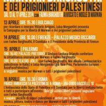 Campagna per la libertà di Marwan Barghouthi e dei prigionieri politici palestinesi
