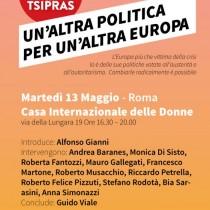 13 maggio a Roma: Un'altra politica per un'altra Europa