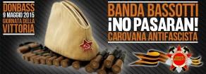 Adesione del PRC di Roma alla Carovana Antifascista della Banda Bassotti in Donbass