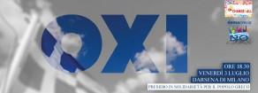 La mobilitazione in sostegno del popolo greco: l'appuntamento di Milano