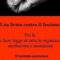 Una firma contro il fascismo
