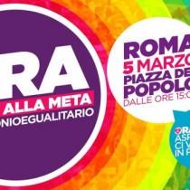 Il 5 marzo manifestazione a Roma per i diritti
