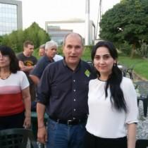 Figen Yüksekdağ, Copresidente dell'HDP, Partito democratico dei popoli della Turchia, in Italia su invito di Rifondazione