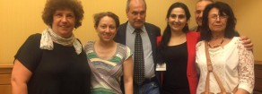 La prima visita in Italia della compagna Figen Yuksekdag, copresidente dell'HDP