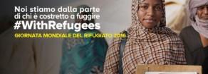 #withRefugees Giornata mondiale Rifugiato sia occasione vera per cambiare le attuali politiche