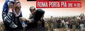 Sabato 24 a Roma in piazza per il Kurdistan. Crescono adesioni alla manifestazione