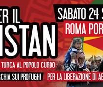 Rifondazione Comunista in piazza per il Kurdistan il 24 settembre a Roma
