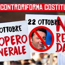 No Renzi Day: a Roma 21 e 22 ottobre
