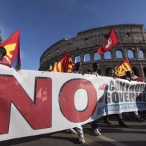 La spinta sociale del No al referendum