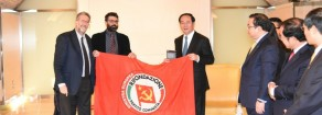 Incontro del PRC con il Presidente della Repubblica del Vietnam