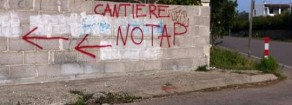 """No Tap – Forenza (Altra Europa-Gue/Ngl): """"Blitz notturno ennesimo episodio di imposizione dall'alto e con la forza di una """"grande opera inutile"""" alla popolazione. Io sto coi No Tap"""""""