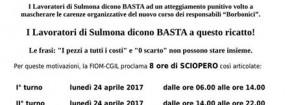 Licenziamenti punitivi alla Magneti Marelli di Sulmona. La solidarietà di Rifondazione Comunista