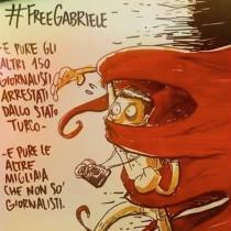 """Gabriele Del Grande, Acerbo (Prc): """"Mi unisco a suo sciopero della fame. Subito libero il reporter italiano"""""""