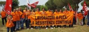 Con lavoratrici e i lavoratori  della K-Flex, no alle  delocalizzazioni
