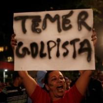 Brasile: emerge corruzione dei golpisti che hanno destituito la legittima presidente Dilma
