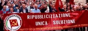 Lavoro, Ast Terni, PRC: «Pieno sostegno allo sciopero dei lavoratori Ast di Terni: ripubblicizzazione unica soluzione»