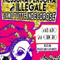 # MilanoPride2017: Nessuna persona è illegale, siamo tutte indecorose