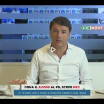 Renzi e il 2 per mille