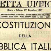 Attenzione: attacco alla prima parte della Costituzione