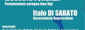 Europa, Forenza: «Da domani a Bruxelles una due giorni per costruire la rete europea per il diritto al dissenso: stop repressione»