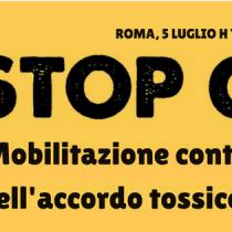 Stop Ceta, Rinaldi (Prc) oggi a Montecitorio: «Chi ha detto no oggi al Ceta voti di conseguenza in Parlamento!»