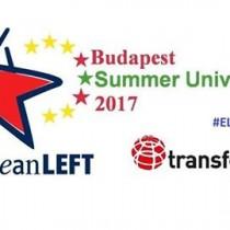 Università estiva della Sinistra Estiva, a Budapest, dal 19 al 23 luglio