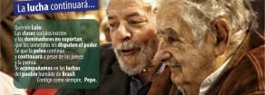 La solidarietà di Pepe Mujica e Raul Castro a Lula