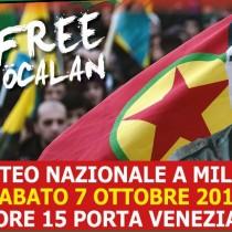 Libertà per Abdullah Öcalan e per tutte le prigioniere e i prigionieri politici Pace in Kurdistan & Democrazia in Medio Oriente