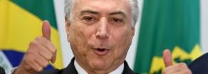 Brasile: La cospirazione è il maggiore crimine di Temer