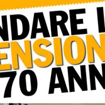Bloccare l'aumento dell'età pensionabile a 67 anni è il minimo della decenza. Va cancellata la controriforma Fornero.