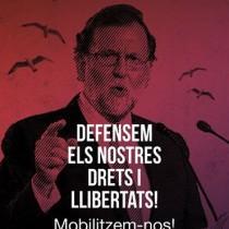 No alla repressione in Catalogna