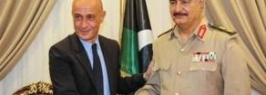 Libia, Acerbo: «Il gendarme Minniti alla conquista della Libia…Incontro con Haftar è cinismo politico senza pari»