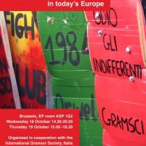 Incontri Gramsci nello spazio europeo