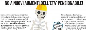 """Pensioni, Fantozzi (Prc-Sinistra Europea): """"Il governo è indecente. Necessaria la mobilitazione"""""""
