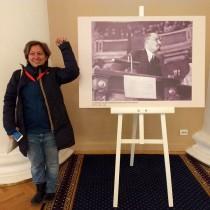 Rivoluzione, E. Forenza a Leningrado e Mosca: «Buon 7 novembre a chi lotta per il comunismo e la libertà»