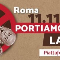 Manifestazione nazionale Portiamo in piazza la verità – Eurostop, 11/11