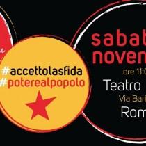 """Sinistra – Acerbo (PRC-Se): «Domani a Roma con """"Je so pazzo"""" per una lista di sinistra, cioè popolare»"""
