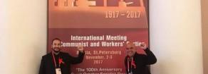 Sinistra – Rifondazione Comunista in Russia per il centenario della rivoluzione d'ottobre