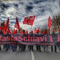 Basta schiavi, sosteniamo lavoratori della Castel Frigo