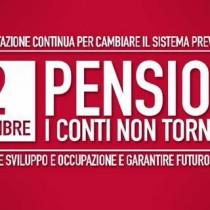 Domani in piazza con la Cgil alla manifestazione sulle pensioni: cancellare la legge Fornero, ripristinare l'articolo 18