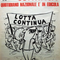 Manifesto LC in Questura – Acerbo (Prc): «Gasparri attacca Lotta Continua per difendere nazisti»