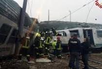 Treno deragliato a Pioltello, il nostro cordoglio per le vittime