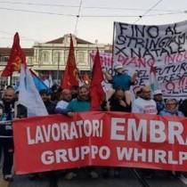 Lavoro, Locatelli (Prc): «A fianco dei lavoratori Embraco, boicottiamo Whirlpool»