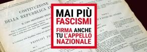 Solidarietà all'ANPI. Forza Nuova non ha diritto di cittadinanza in una democrazia