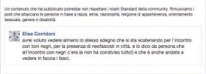 Campagna elettorale, Corridoni (Prc-Pap): «Anche io censurata da fb…per Toni Negri»